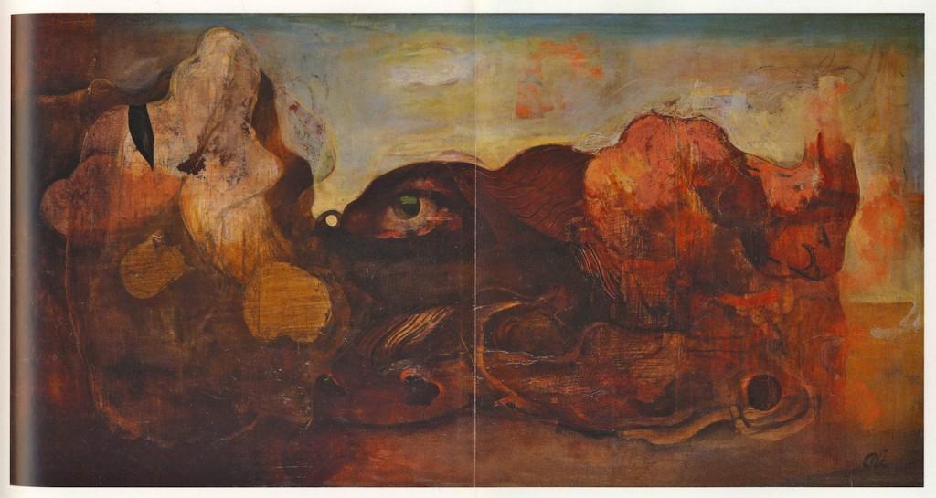 1938 年、油彩・キャンバス、102.0×193.5cm