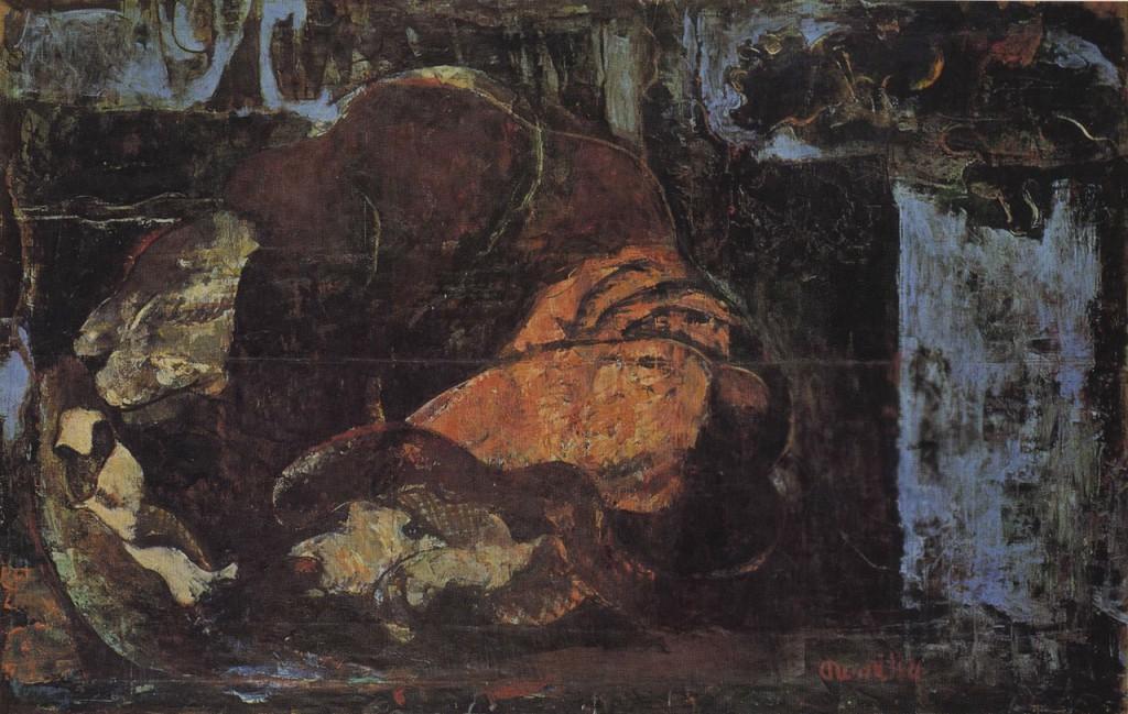 《シシ》1936 年、油彩・キャンバス、144.5×228.0cm